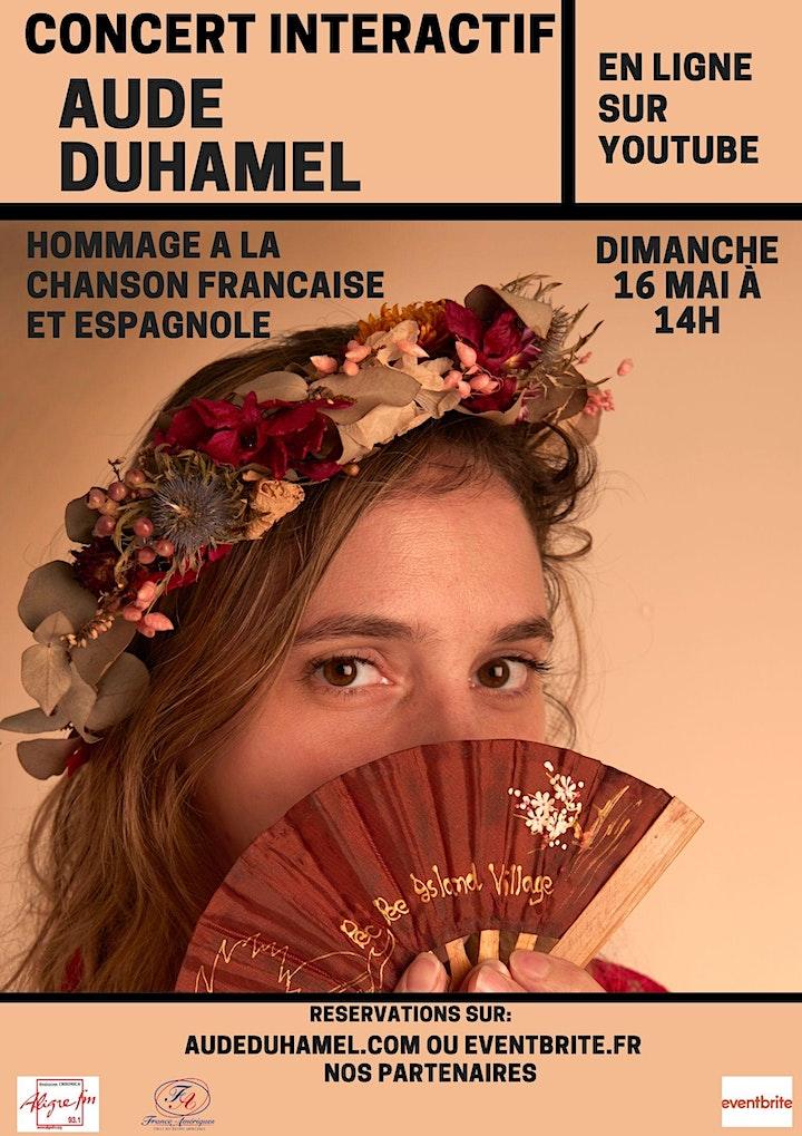Image pour Aude Duhamel dans votre salon - Session 4 - Chansons Espagnoles