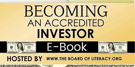 Becoming an Accredited  Investor E-Book Tickets