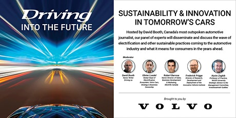 Driving into the Future: Sustainability & Innovation in Tomorrow's Cars tickets