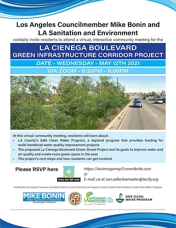 Meeting: La Cienega Blvd Green Infrastructure Corridor Project image
