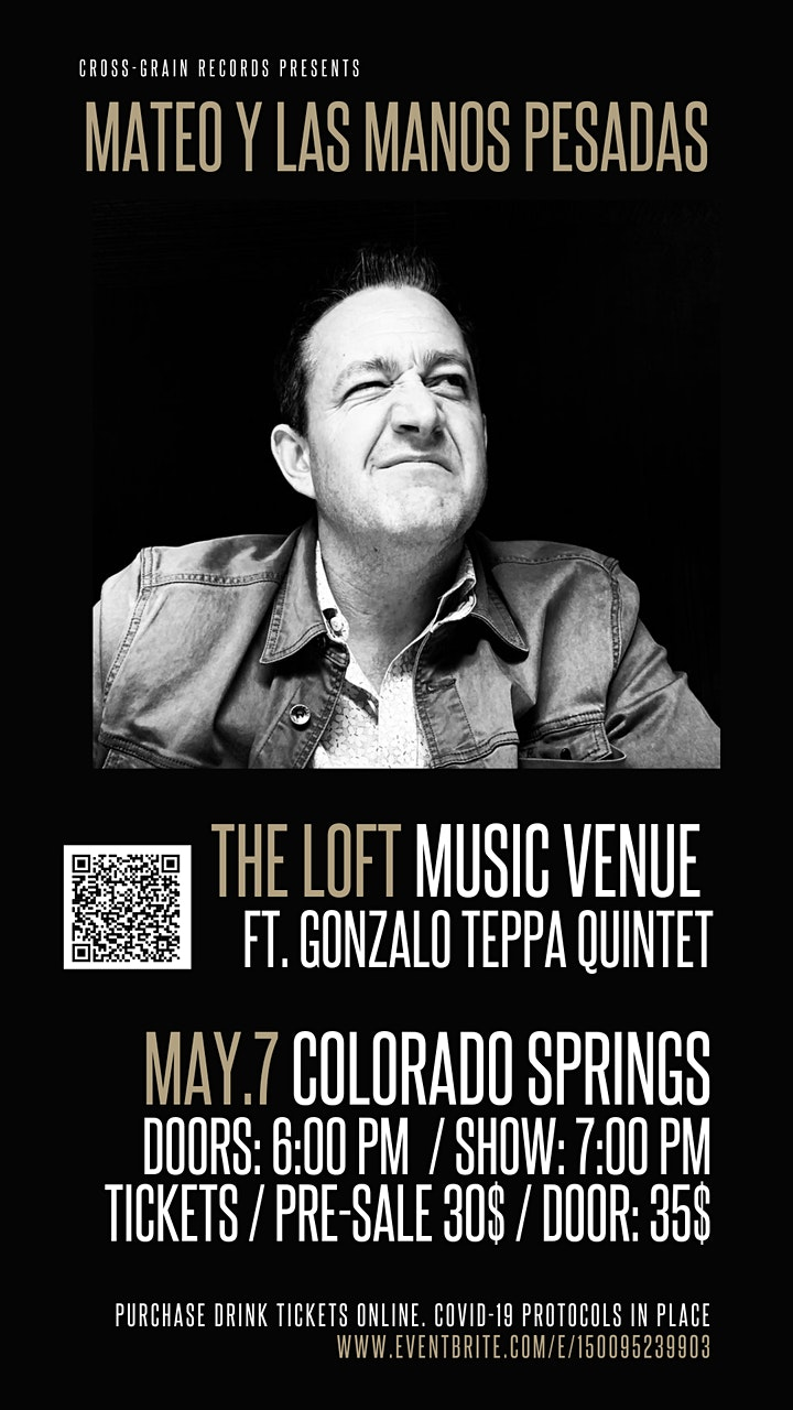 An Evening with Mateo Y Las Manos Pesadas feat. The Gonzalo Teppa Quintet image