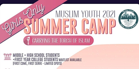 Muslim Youth 2021 Girls Only Summer Camp tickets