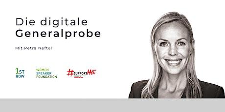 Workshop: Die digitale GENERALPROBE - Online Präsentationstraining Tickets