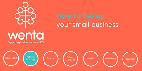 How  to set up your small business: Webinar tickets