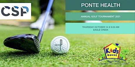 Ponte Health's 4th Annual Golf Tournament 2021 tickets