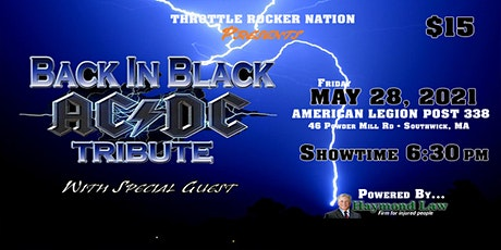 Back In Black (AC/DC Tribute)-Friday-  @ American Legion Post 338 - 5/28/21 tickets