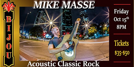Mike Masse - Acoustic Classic Rock tickets