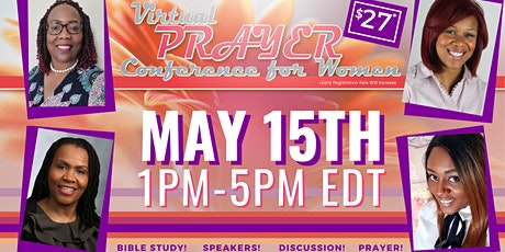 Change Your Posture's VIRTUAL Prayer Conference for Women! tickets