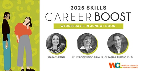 CAREER BOOST: 2025 Skills (3-part discount package) tickets