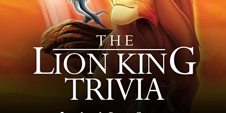 The Lion King Trivia via Facebook Live-Stream tickets