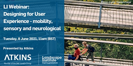 Designing for User Experience - mobility, sensory and neurological tickets