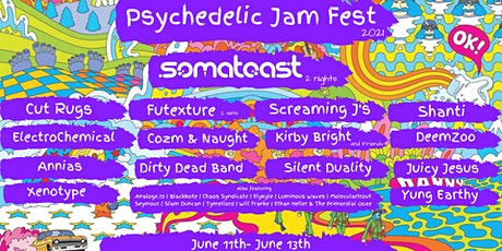Psychedelic Jam Fest 2021 tickets