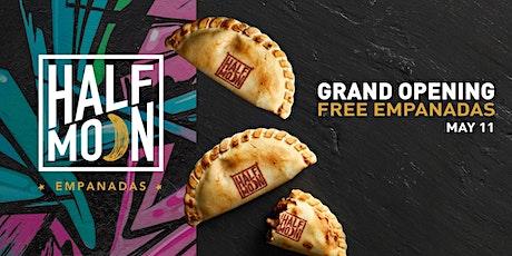 FREE empanadas - Half Moon Empanadas Grand Opening entradas