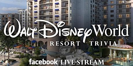 Walt Disney World Resort Trivia Live-Stream tickets