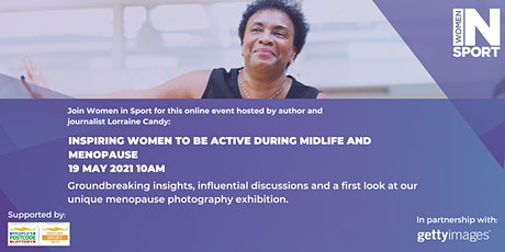 Inspiring women to be active during midlife and menopause tickets