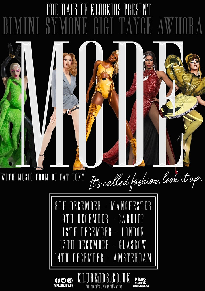 KLUB KIDS MANCHESTER presents MODE featuring SYMONE/GIGI & more (ages 14+) image
