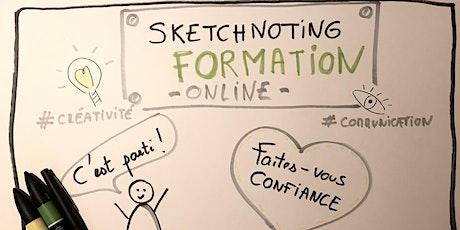 Formation Sketchnoting et pensée visuelle pour communiquer efficacement billets