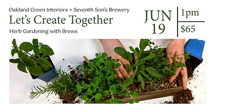 Herb Gardening with Brews tickets