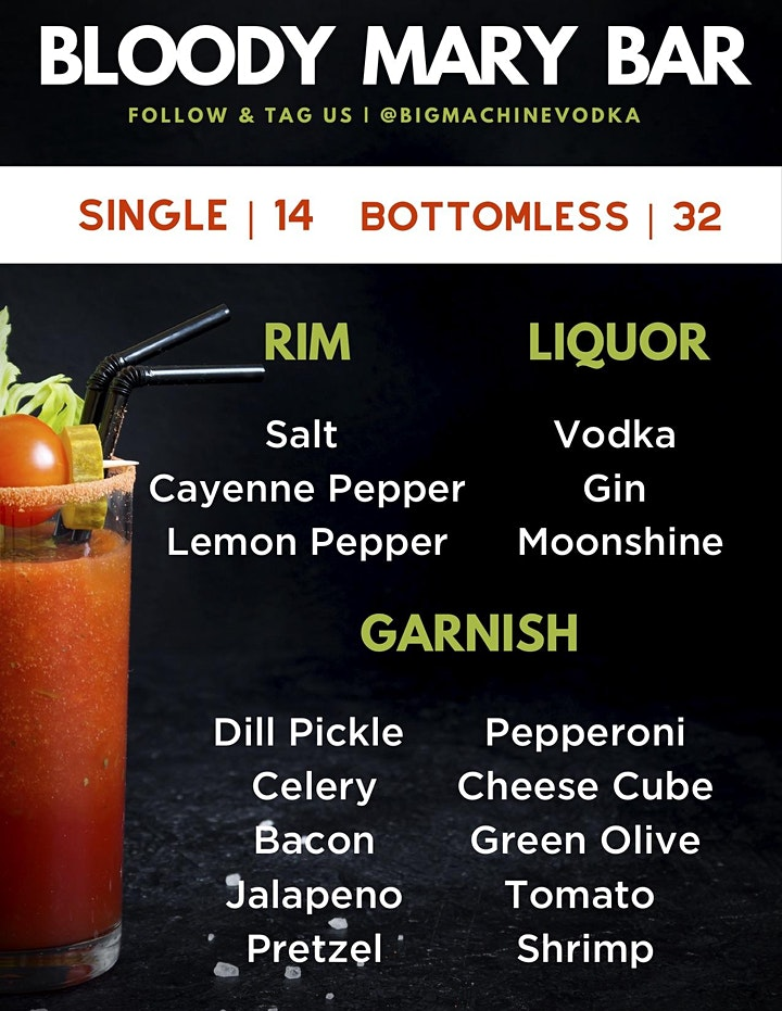 Bloody Mary Bar Off Broadway image