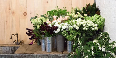 An Afternoon of Flower Arranging and Champagne with Flower Girl NYC tickets