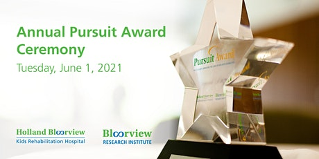 Pursuit Award competition tickets