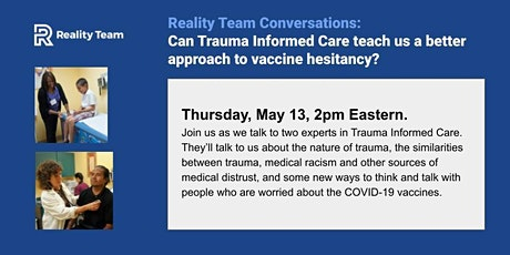 Can trauma care show us a better approach to vaccine hesitancy? tickets