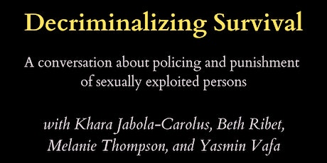 Decriminalizing Survival tickets