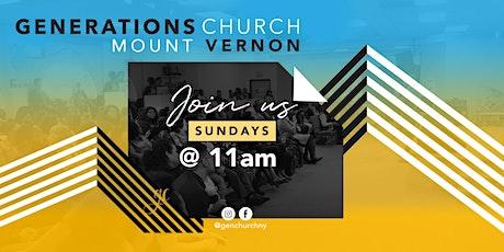 Sunday Worship Service - Mount Vernon tickets