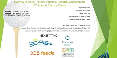 Evensky & Katz/ Foldes Financial - 16th Annual Charity Classic tickets