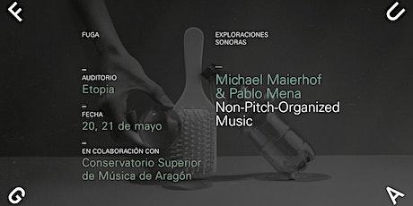 Non-pitch-organized Music / Charla por Michael Maierhof entradas