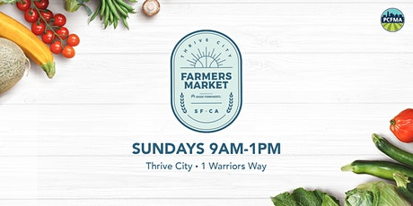 Thrive City Farmers' Market tickets