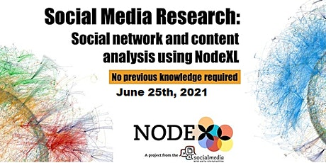 Introduction to networks and NodeXL Pro - social networks in a click! tickets