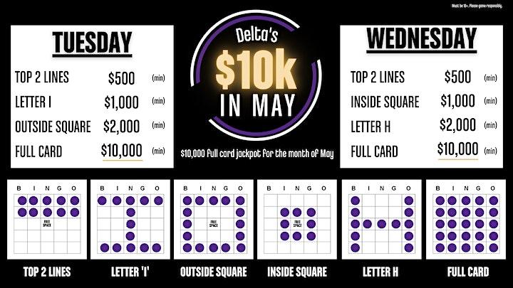 Delta Bingo at Home - May 11 image