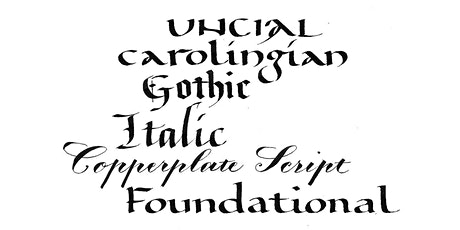 Calligraphy Intensive - Section I tickets