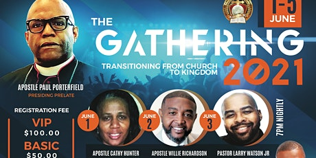 """BOCMW Spring Gathering """"Transitioning from Church to Kingdom tickets"""
