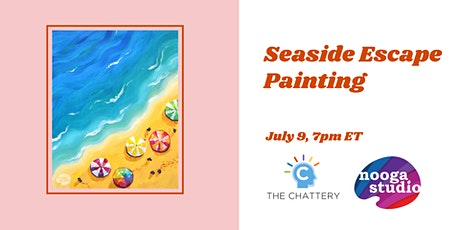 Seaside Escape Painting - IN-PERSON CLASS tickets