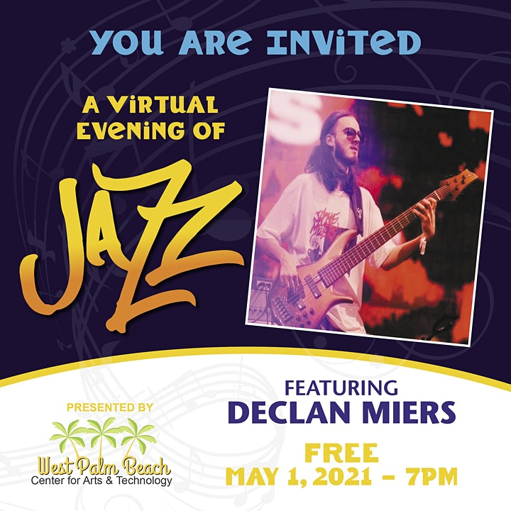 A Virtual Evening of Jazz with the WestPalmCAT image