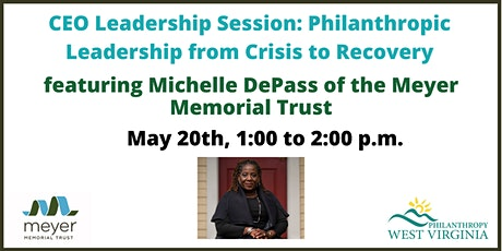 CEO Leadership Session: Philanthropic Leadership from Crisis to Recovery tickets
