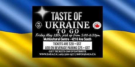 Taste of Ukraine To Go billets