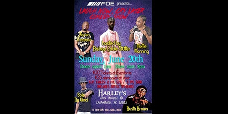 Face Off Ent Presents: Laugh Now Cry Later Comedy Show @ Harley's tickets