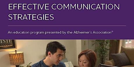 Effective Communication  Strategies tickets