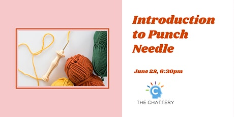 Introduction to Punch Needle - IN-PERSON CLASS tickets
