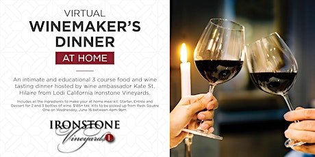 Reds Virtual Winemaker's Dinner tickets