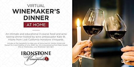 Reds Virtual Winemaker's Dinner tickets
