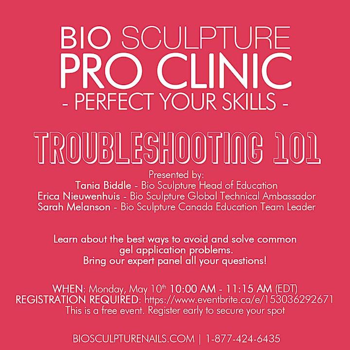 Pro Clinic - Troubleshooting 101 image
