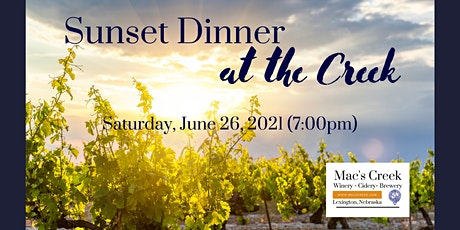 Sunset Dinner - June 2021 tickets