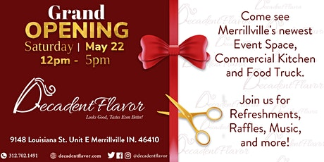 Decadent Flavor Grand Opening tickets