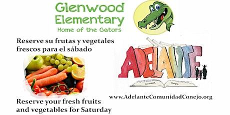 Glenwood Elementary Frutas y Vegetales / Fruits and Vegetables tickets