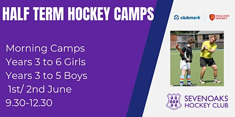 Sevenoaks Hockey Club Half Term Camp Mornings tickets