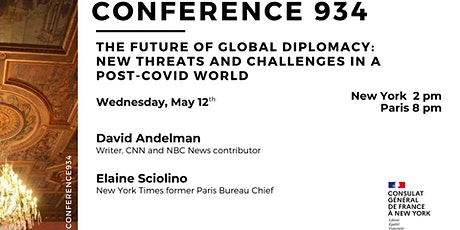 Conference 934: The Future of Global Diplomacy in a Post-COVID World tickets